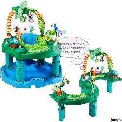 Прыгунки-игровой центр Evenflo ExerSaucer Jungle